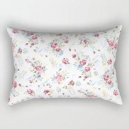 Heirloom Tea Rose Rectangular Pillow