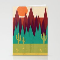 arizona Stationery Cards featuring Arizona by Kakel