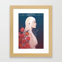 Cloaked Framed Art Print
