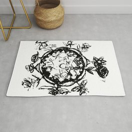 Little Prince small planet Rug