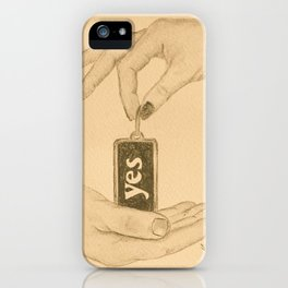 """""""Yes"""" - Fifty Shades Darker iPhone Case"""
