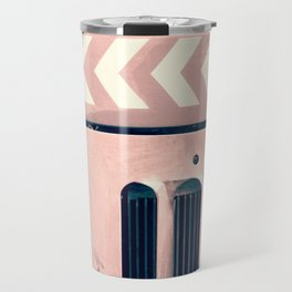 Road Roller Chevron - Industrial Abstract (everyday 17.01.2017) Travel Mug