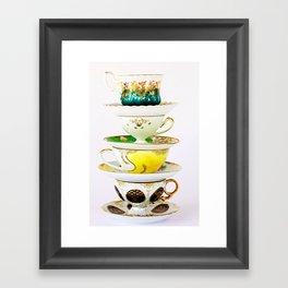 Tip Top TeaCup Framed Art Print