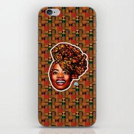 Ashanti Queen iPhone Skin