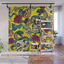 Yellow Snake  Wall Mural