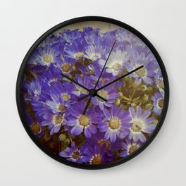 MY BOHEME FLOWERS Wall Clock