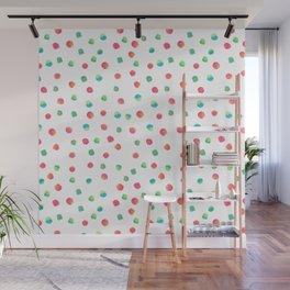 Happy Dots Wall Mural