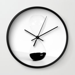hourglass Wall Clock