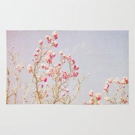 Sweet Pink Magnolias Rug