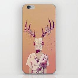 Sakura Lady iPhone Skin