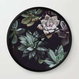 Floral Type Of Love Wall Clock
