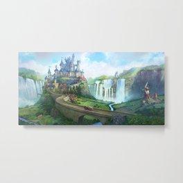 epic fantasy castle  Metal Print