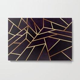 Dark Amethyst Metal Print