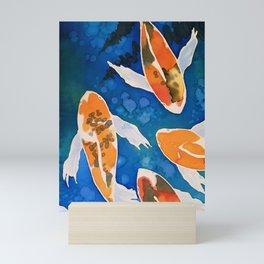 Koi pond Mini Art Print