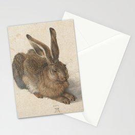 Hare by Albrecht Dürer Stationery Cards