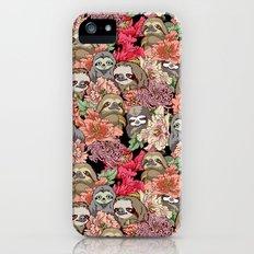 Because Sloths iPhone SE Slim Case