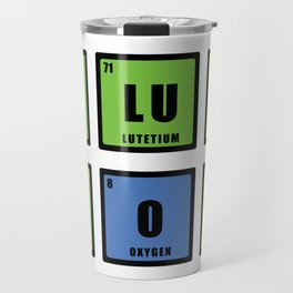 Love is chemistry Travel Mug