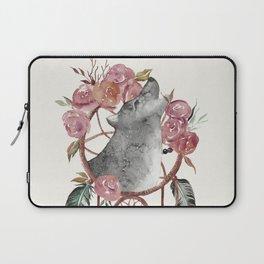 Wolf Dream Catcher Laptop Sleeve