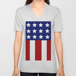 Patriotic Love Unisex V-Neck