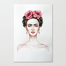 Frieda Canvas Print