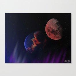 IHON - Born To The Endless Night Canvas Print