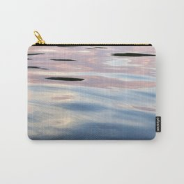 Pink, Lavender, and Blue Water Abstract No.1 Carry-All Pouch