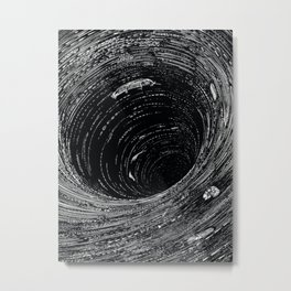 A Descent Into the Maelstrom from Edgar Allan Poe's Tales of Mystery and Imagination  Metal Print