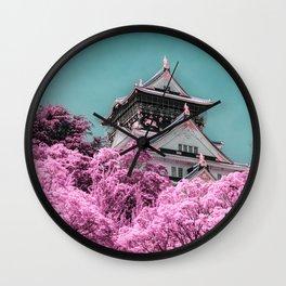 Osaka Castle Wall Clock