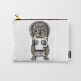 """""""Nuts About Coffee"""" - Java Jungle collection Carry-All Pouch"""