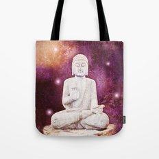 BUDDHA | Red Lights Tote Bag
