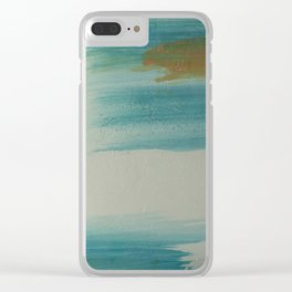 Santa Fe Impressionism - Abstract Art - Corbin Henry Clear iPhone Case