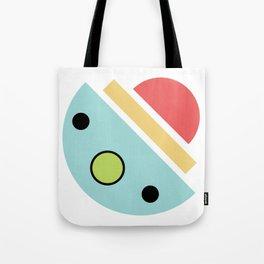 Chatty spaceship Tote Bag