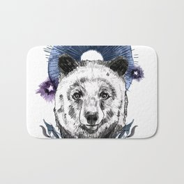 The Bear (Spirit Animal) Bath Mat