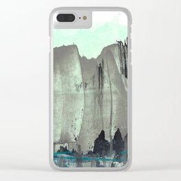 City from the Park Clear iPhone Case