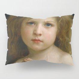 """William-Adolphe Bouguereau """"Little Girl"""" Pillow Sham"""