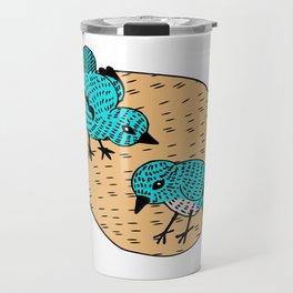 Cooky Birds Travel Mug