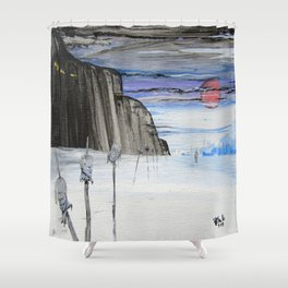 Impaled Shower Curtain
