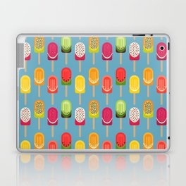 Fruit popsicles - blue version Laptop & iPad Skin