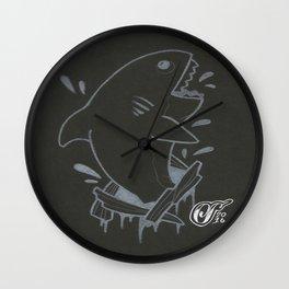 WhiteShark Wall Clock