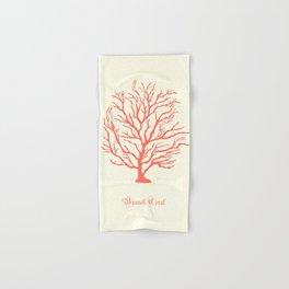 AFE Branch Coral, Living Coral Hand & Bath Towel