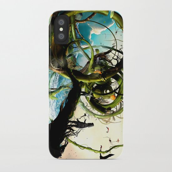 Oz (surreal version of the wizard of Oz) iPhone Case