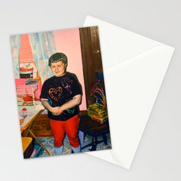 Self Portrait with Barbie, Age Seven Stationery Cards