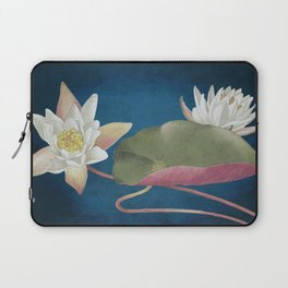 American Waterlilly Laptop Sleeve