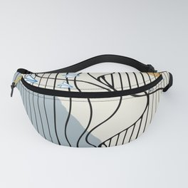 Paper Planes Pattern Fanny Pack