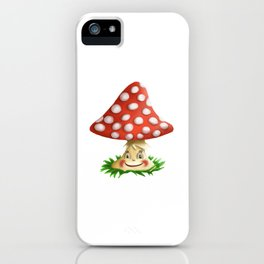 Happy Fly Agaric iPhone Case