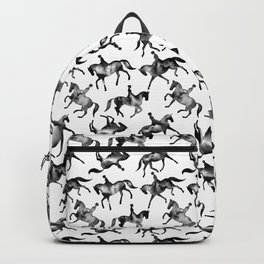 Dressage Horse Silhouettes Backpack