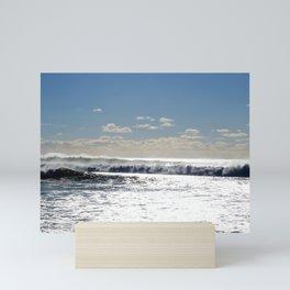 Lawrencetown Beach Long Wave3 Mini Art Print