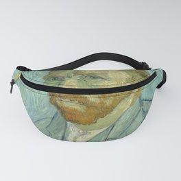 """Vincent van Gogh """"Self-portrait"""" (1) Fanny Pack"""