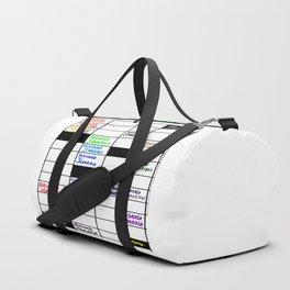 Rainah Jamean Crossword Puzzle Duffle Bag