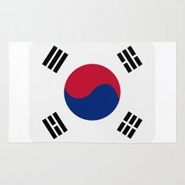 south korea flag Rug